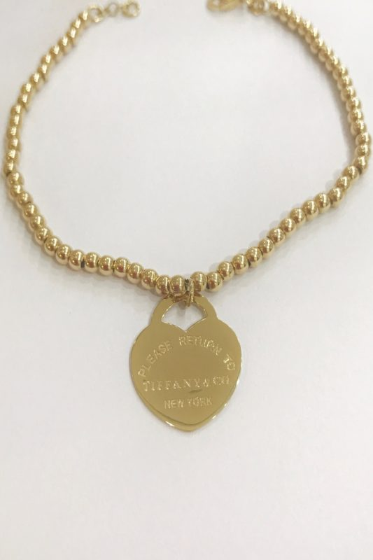 18k Yellow gold Tiffany & Co