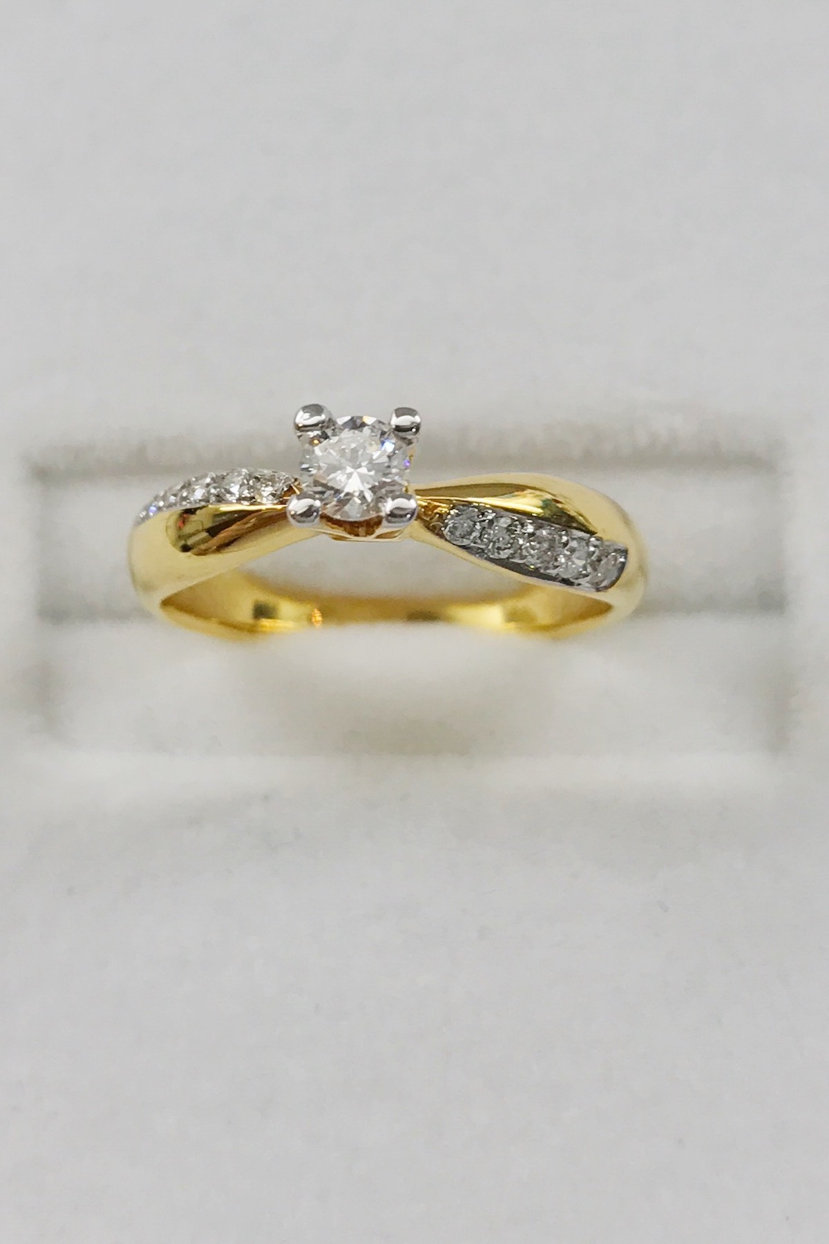 the ring alexandria interior center yellow rings tungsten products and with wedding gold stripe