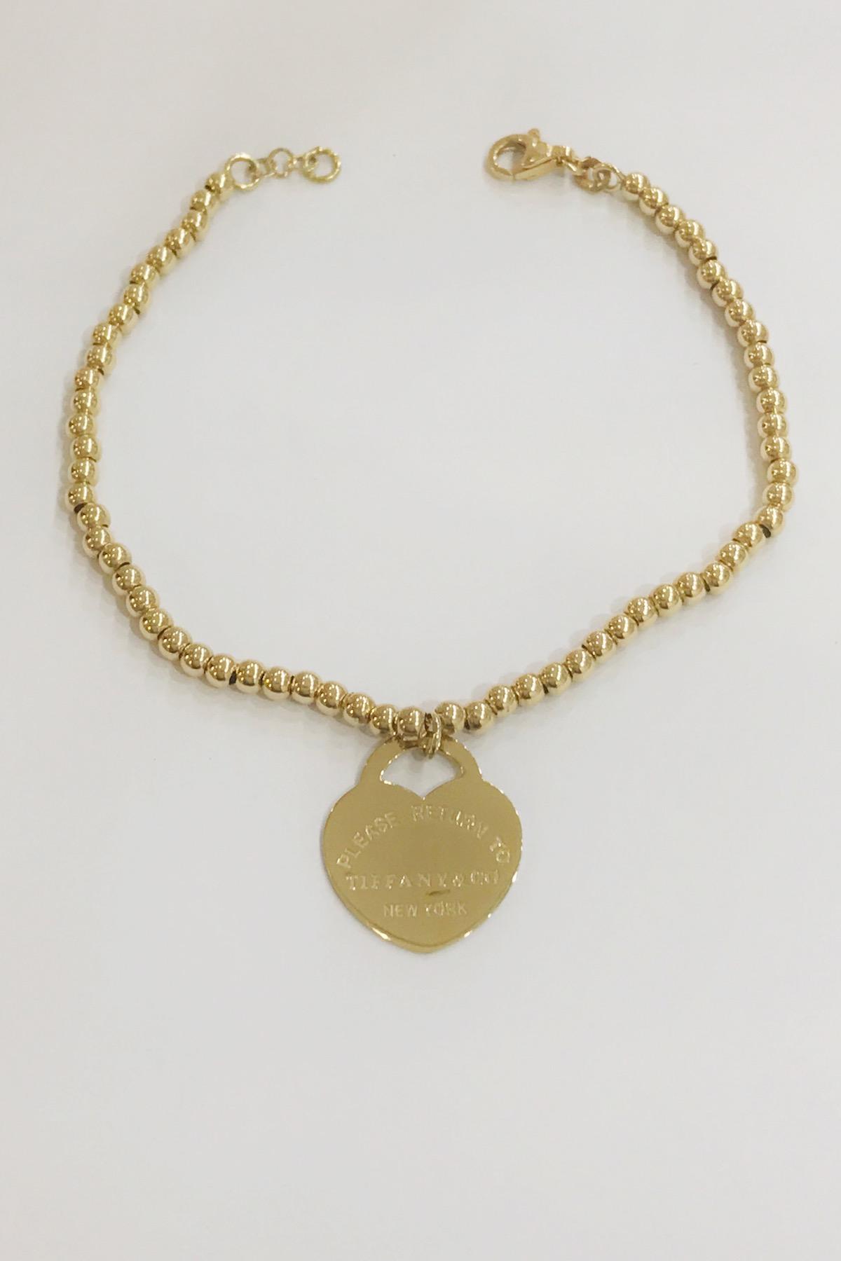 18k Yellow gold Tiffany & Co