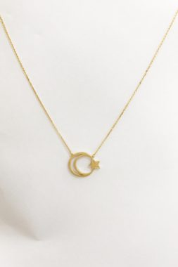 18K YELLOW GOLD CHOKER