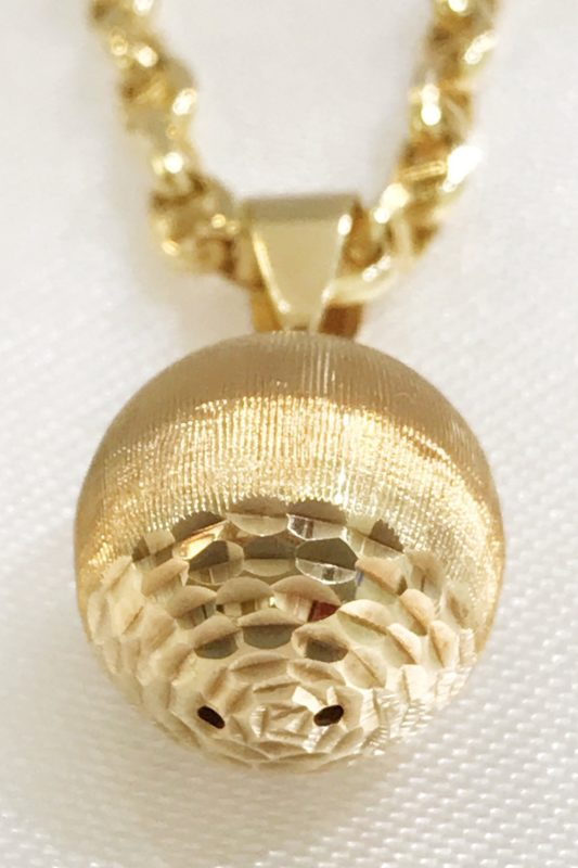 18k Yellow Gold Pendant
