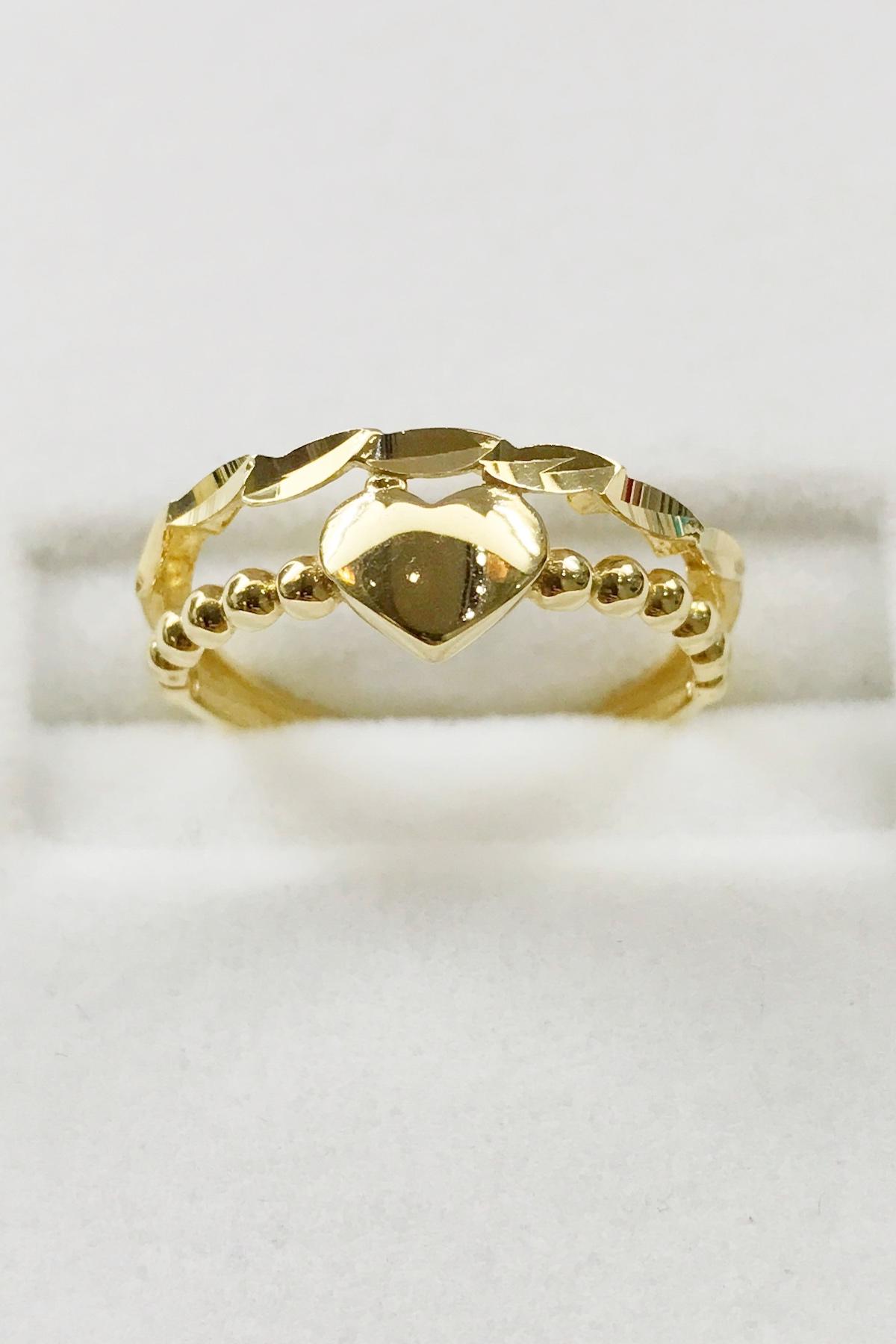 18k YELLOW GOLD WOMEN'S RING