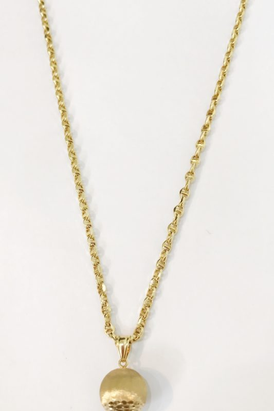 18K YELLOW GOLD CHAIN