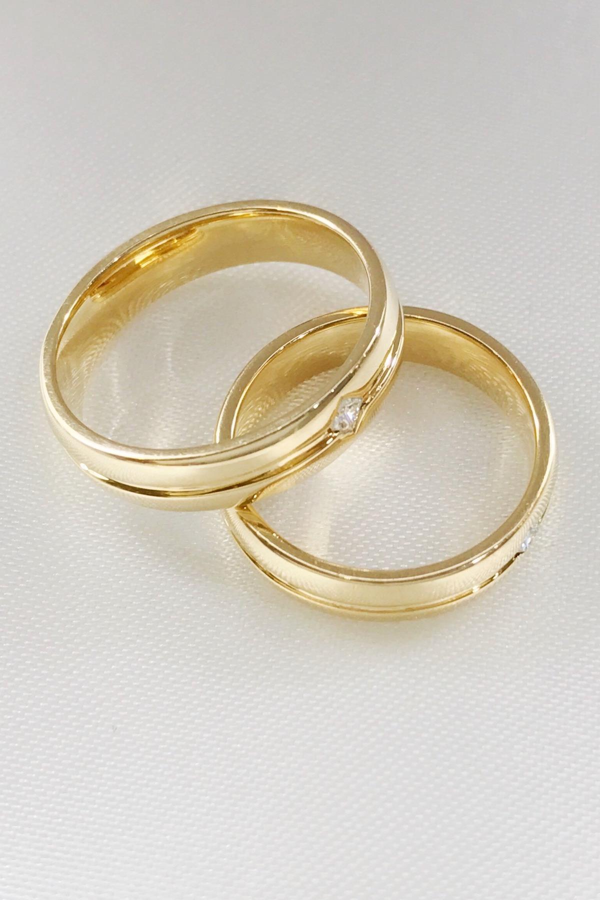 14k Yellow Gold Wedding Ring
