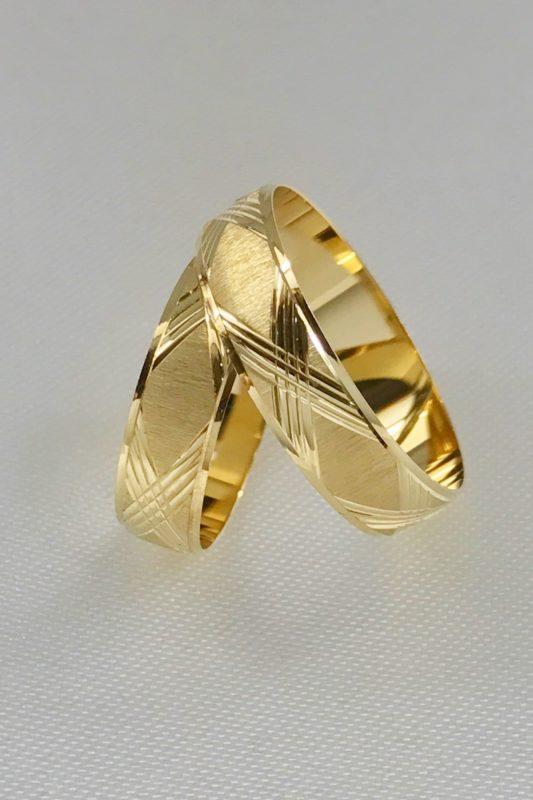 18k Yellow Gold Wedding Ring