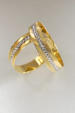 18k Yellow Gold Wedding Ring